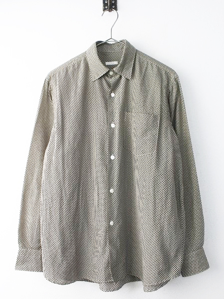 K01-02004 ドット コモリ シャツ