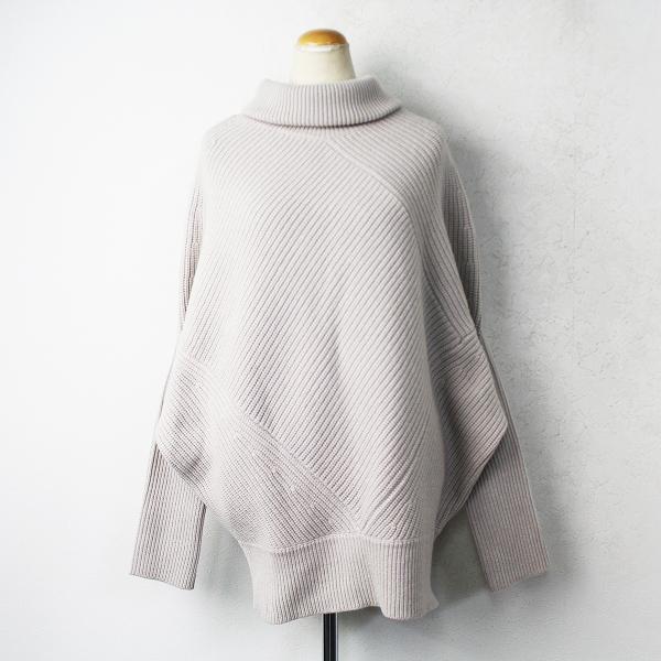 タートル Asymmetry knit