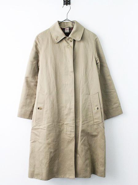 ロング ステンカラー コート