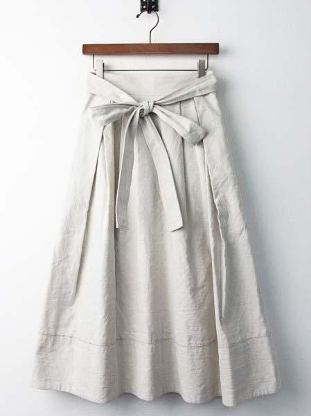 サイド リボン スカート