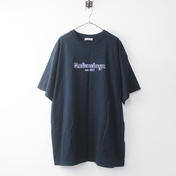 2019SS 1917 ロゴ 刺繍 ビッグ Tシャツ