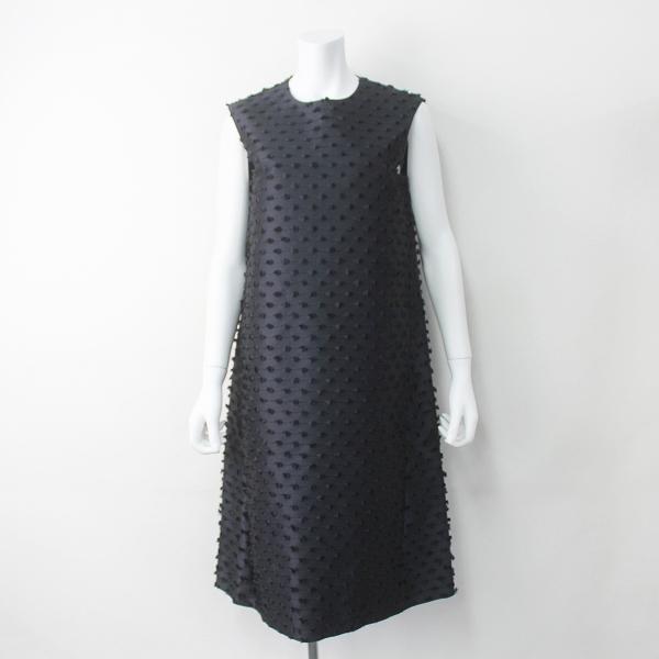 ジャカード バックリボン ドレス